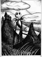 Jack Skellington by DeathSpikes