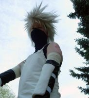 Otafest '09 - ANBU Kakashi by Kale-Night