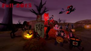 (Widescreen rerelease) Fall 2013 HD by Skellington16