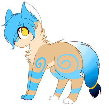 Canine blue Auction CLOSED by CankeShy