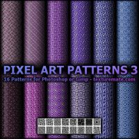 Pixel Art Patterns 3 by AscendedArts