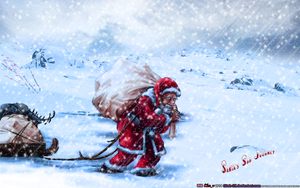 SANTA'S SAD JOURNEY HOME by CSuk-1T