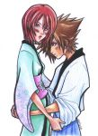 Sora and Kairi love-love :3 by kirakam