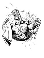 Captain America by Sanchez by InCN