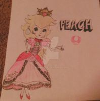 Peach in Smash Bros for Wii U/3DS by Lanm01