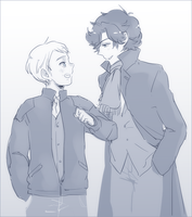 SH: someone to laugh with by bone-kun