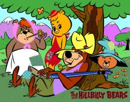 Hillbilly Bears by slappy427
