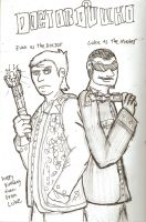Doctor Euan and Master Luke. by Luke-the-F0x