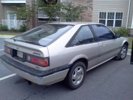 My 1986 Honda Accord Hatchback by Kyuubichowderfan