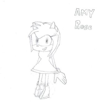 Amy Rose by Club-TraditionalArt