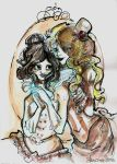 Haunted Mansion Princess and Blondie by SonicPossible00