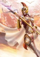 Athena's Attack by NinjArt1st