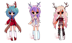 Random set 5 -Offer- by PastelBits