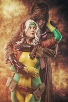 Rogue and Gambit: Ma Cherie by miyumiyuchancosplay