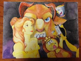 Beauty and the Beast by Billygoatbaby