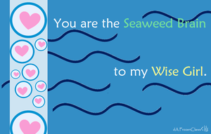 Percy Jackson and the Valentines: Seaweed Brain by FrozenClaws