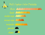 Humanized Bill Cipher Color Palette by Manipulate-Create