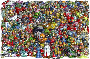 Classic MegaMan - 1987 to 2003 by MSipher