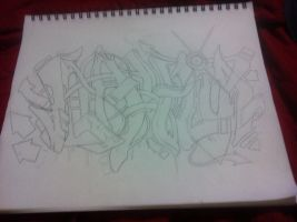 Graff Sketch (unfinished) by MagicalTriceratops