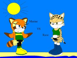 Marine vs Rave who will get eating by shadevore