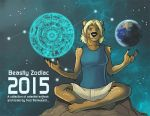 Beastly Zodiac Calenders Now on Sale! by Ulario