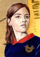 Jenna-Louise Coleman mini-portrait by whu-wei