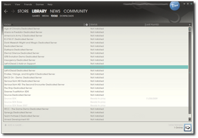 Steam Skin New UI - 03.05.2010 by Streetster20