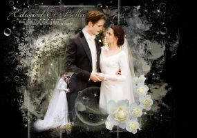 Edward and Bella's Wedding by VaLeNtInE-DeViAnT