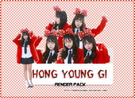 [RENDER-PACK#019] Hong Young Gi by babykidjenny