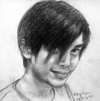 Eric in pencil by nutzies