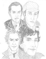 Mr. Sherlock Holmes by figgs-the-pirate