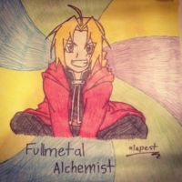 My Edward Elric Poster by Alapest