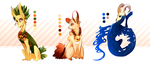 Adopt pack [1 3] by Capy-dragoness