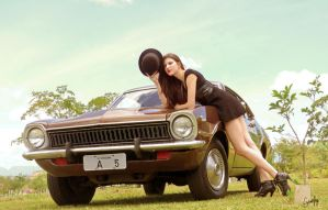 Ford Maverick and Ingrid by Evannrpg