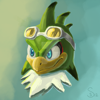 Jet The Digital Painting by VectorTheCrocodille