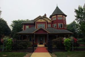 HDR Victorian House by prestonthecarartist