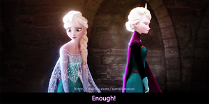 Enough~elsa by meowxiaoshou