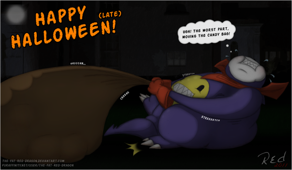 HALLOWEEN -The Snowball Effect by The-Fat-Red-Dragon