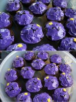 lumpy space cupcakes by resubee