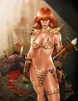 Red Sonja by DrixArt