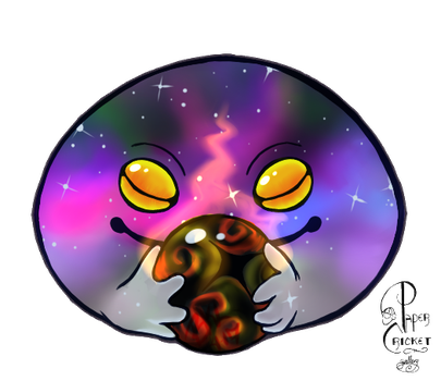 Smol Space Friend by 0ArmoredSoul0