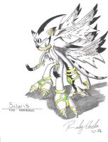 Solaris the Hedgehog by MaesterSolaris