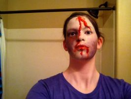 My makeup that I washed off by Woofies2003
