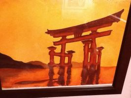 Shinto painting 2 by Midnight--Comet