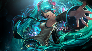 Miku Hatsune Sig by Kypexfly