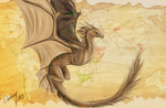 Striped Wyvern by flannery123