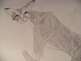 Egyptian Cat by Cheslyn