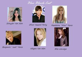 My Blue Bloods Cast by Eclipseyice