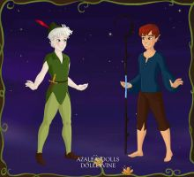 Peter Frost and Jack Pan by k2pony