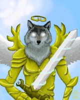 Archangel wolf by Vander-Decken-lX